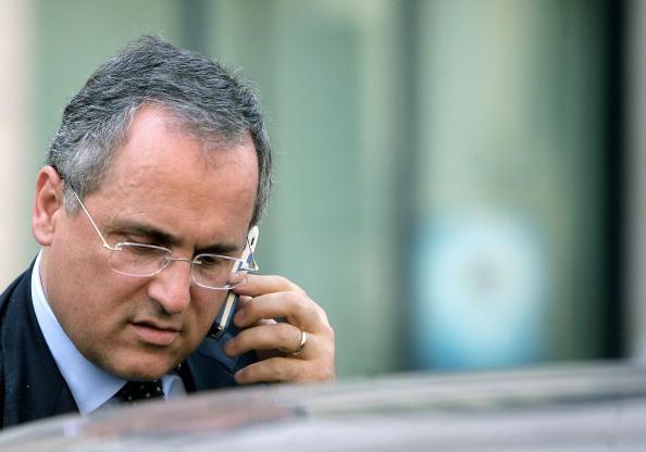 SS Lazio club president Claudio Lotito,