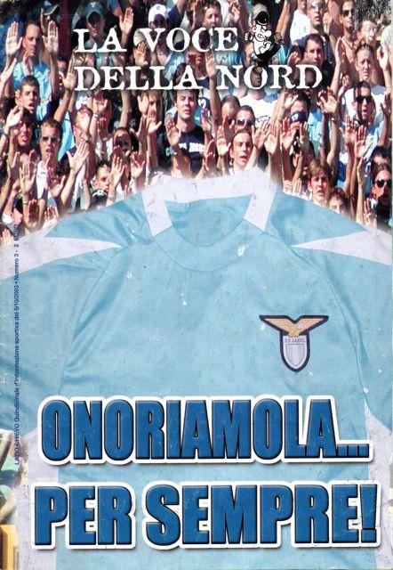 La Voce della Nord - 5 Ottobre 2003 - Lazio-Chievo