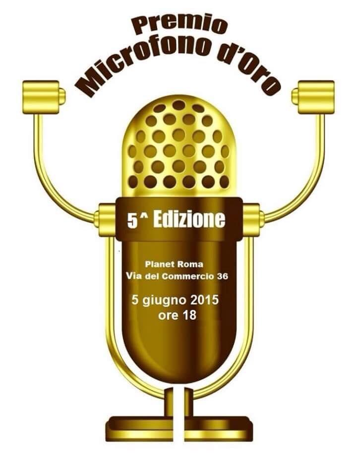 microfono d'oro