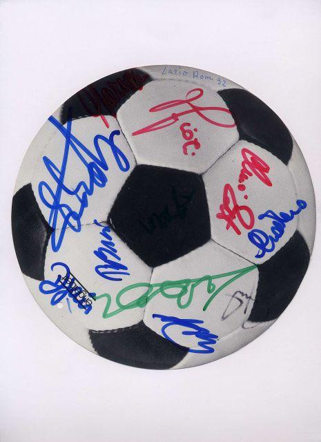 1992-93 - Autografi Giocatori