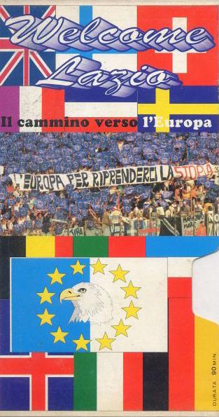 1992-93 - Videocassetta - Welcome Lazio - Il cammino verso l'Europa - (Fronte)