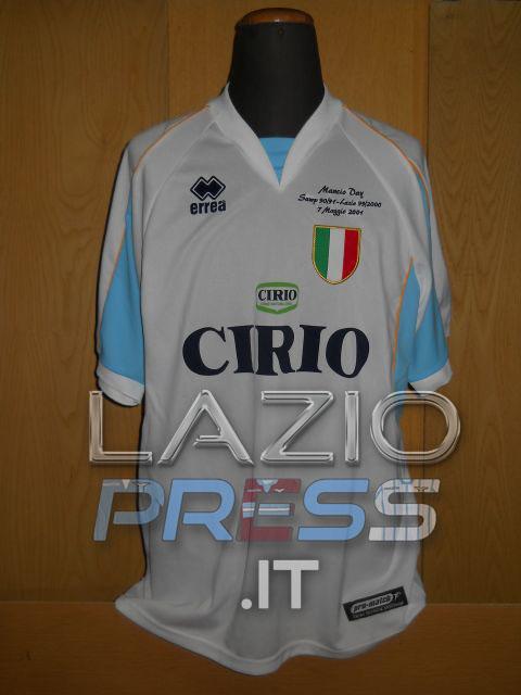 2000-01 - Amichevole Mancio Day - Gottardi - 17 - Sampdoria-Lazio - (Fronte)
