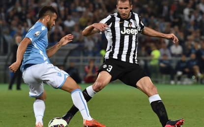 """Chiellini: """"Lazio squadra di livello medio-alto, bisognerà fare una gran partita"""""""