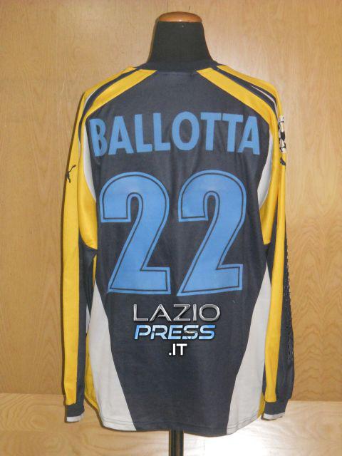Maglia Calcio - Uefa Champions League - Ballotta - 22 - (Retro)