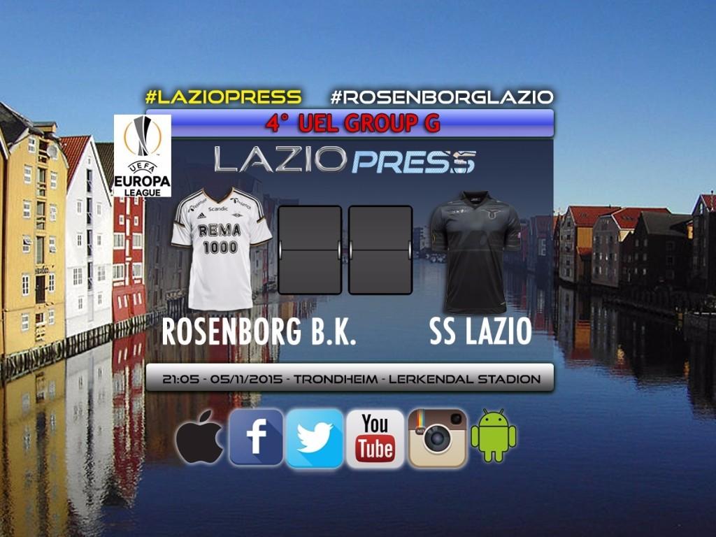 Rosenborg-Lazio UEL europa league