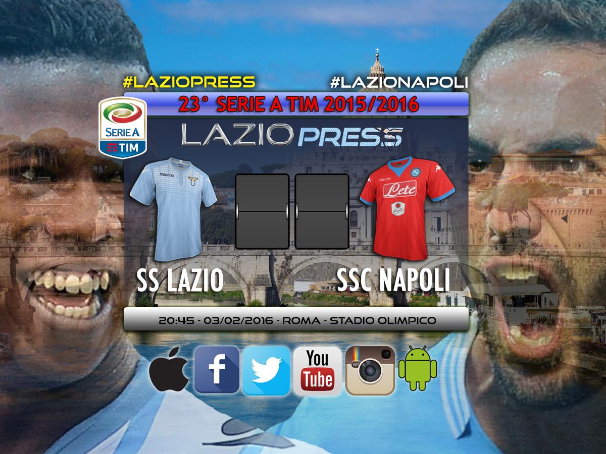 Lazio-Napoli live