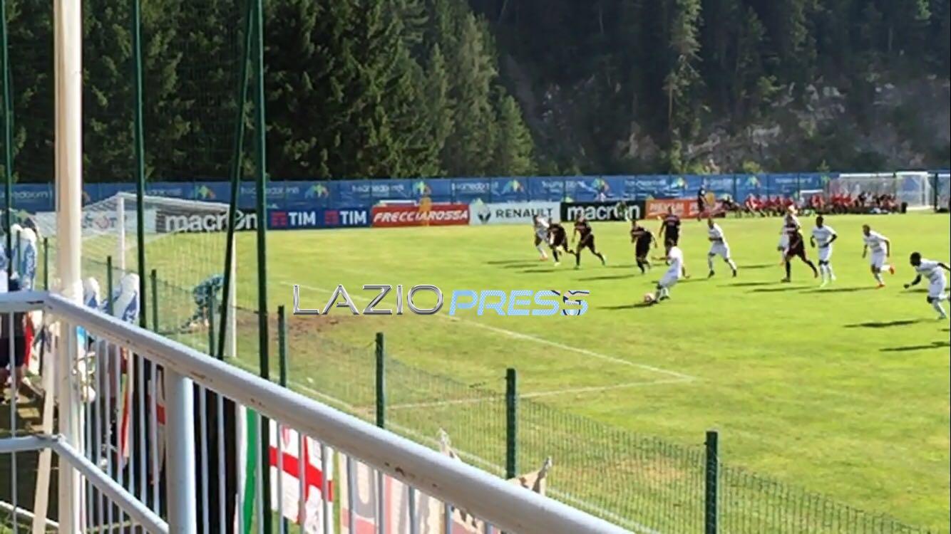 Lazio-Padova 2-1 in amichevole: cori razzisti per Keita