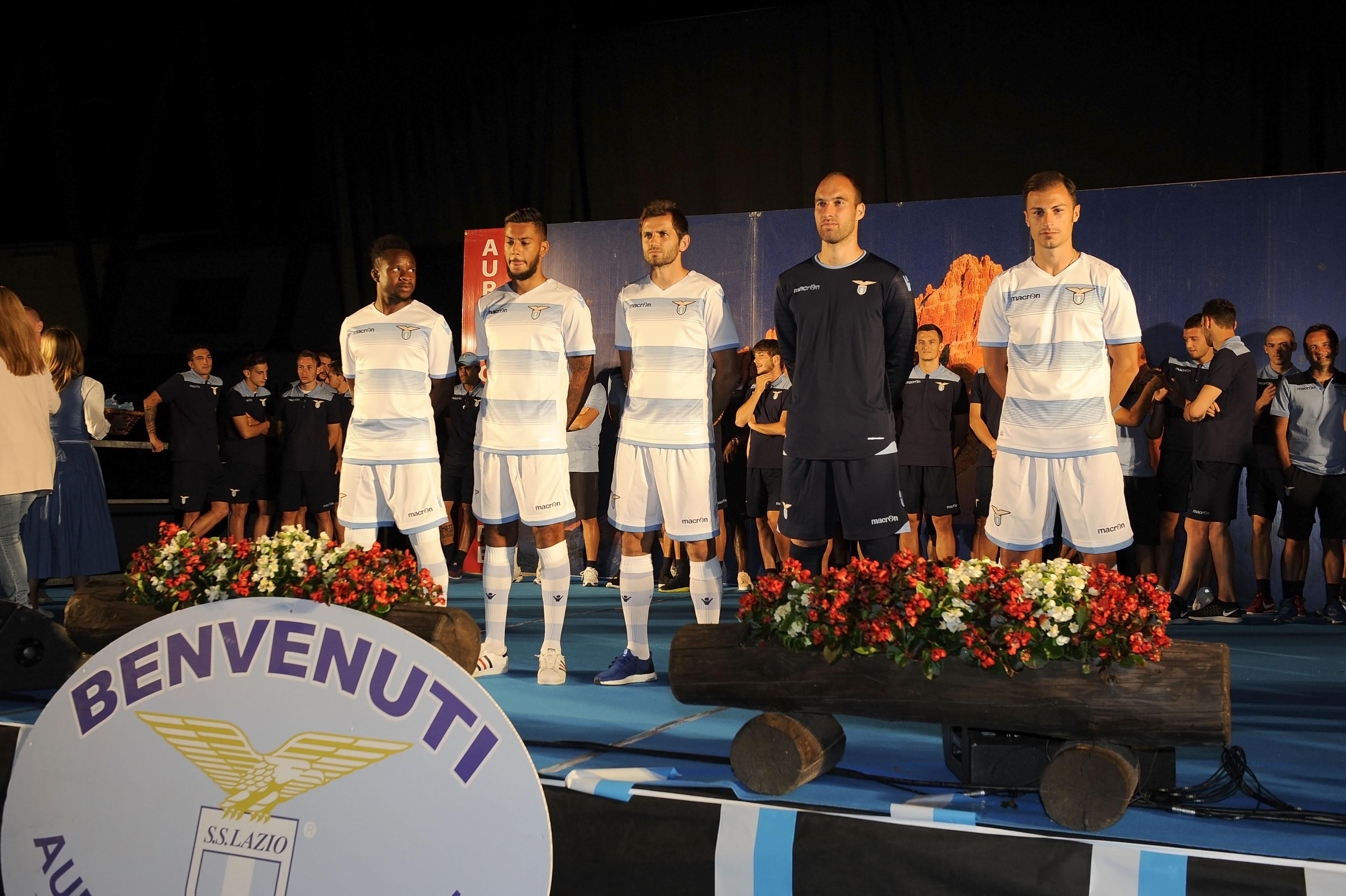 Ritiro estivo S.S. Lazio ad Auronzo di Cadore in preparazione pe