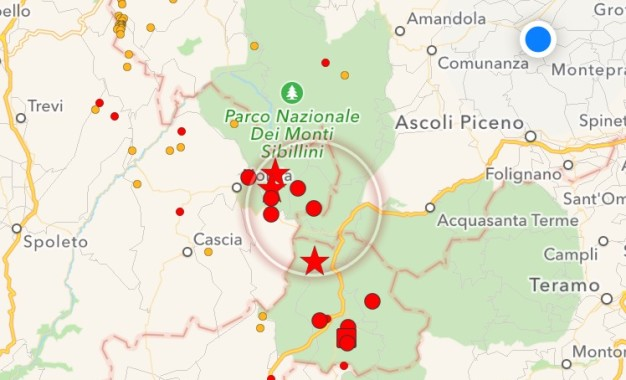 Forte terremoto, due morti nelle Marche. Crolla Amatrice. Ad Accumuli famiglia sotto le macerie