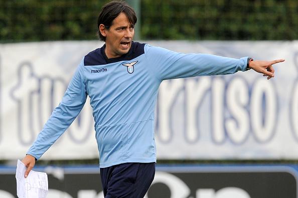 Simone Inzaghi 25-10-2016 Roma Foto Ufficiale SS Lazio nel centro sportivo di Formello SS Lazio traning day @ Marco Rosi / Fotonotizia