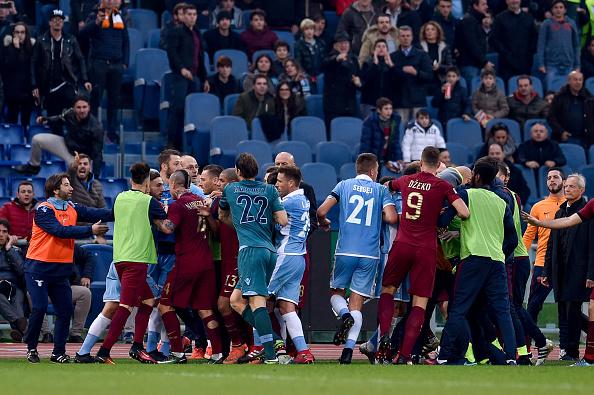 Lazio v Roma - Serie A derby