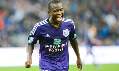 Frank Acheampong - 14.09.2013 - Anderlecht / Malines - 7eme journee Jupiler League Photo : Dieffembacq / Belga / Icon Sport