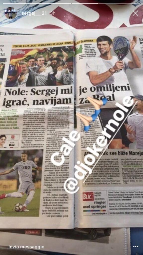 Milinkovic-Djokovic