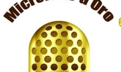 microfono oro