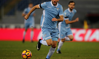 during the Serie A match between SS Lazio and AC ChievoVerona at Stadio Olimpico on January 28, 2017 in Rome, Italy.