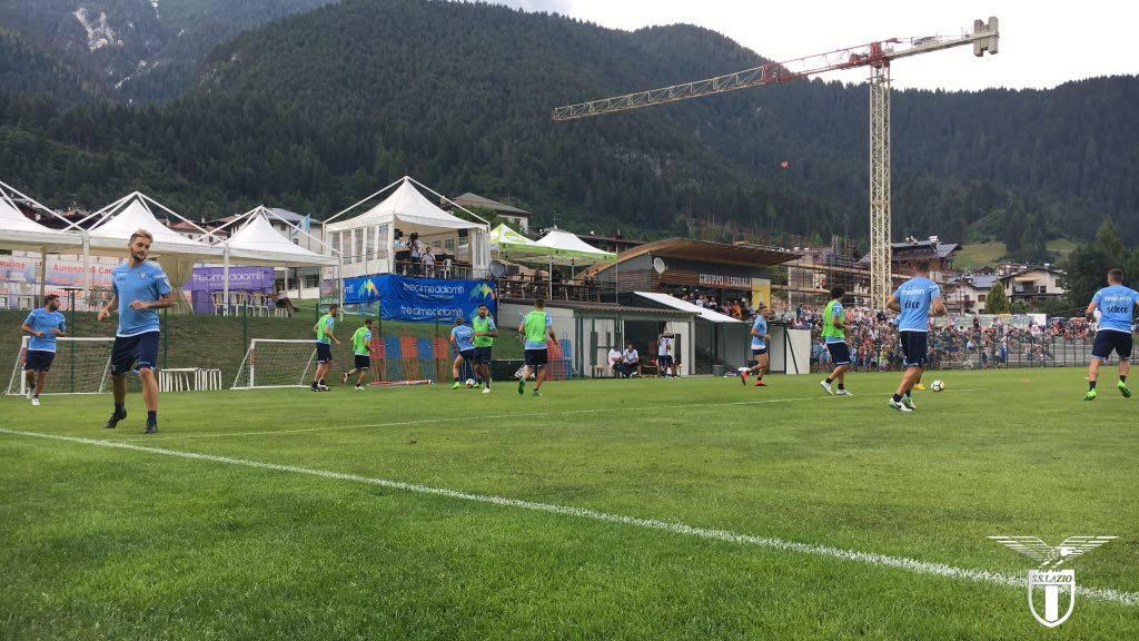 Lazio, goleada all'Auronzo: vittoria per 16-0. Keita show, bene Oikonomidis e Rossi
