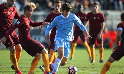during the Primavera Tim Cup juvenile match between AS Roma and SS Lazio at Stadio Tre Fontane on December 21, 2016 in Rome, Italy.