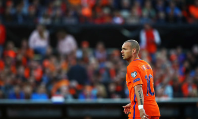 during the FIFA 2018 World Cup Qualifier between the Netherlands and Luxembourg held at De Kuip or Stadion Feijenoord on June 9, 2017 in Rotterdam, Netherlands.