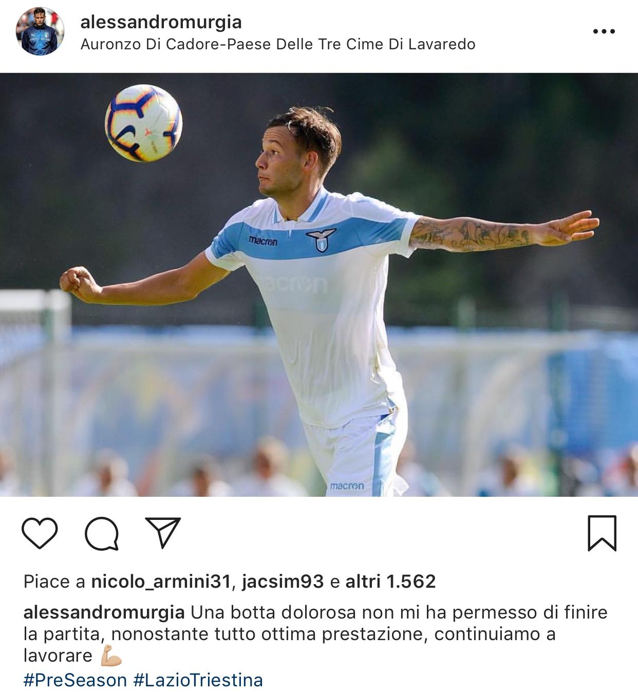 Terza Maglia Lazio ALESSANDRO MURGIA