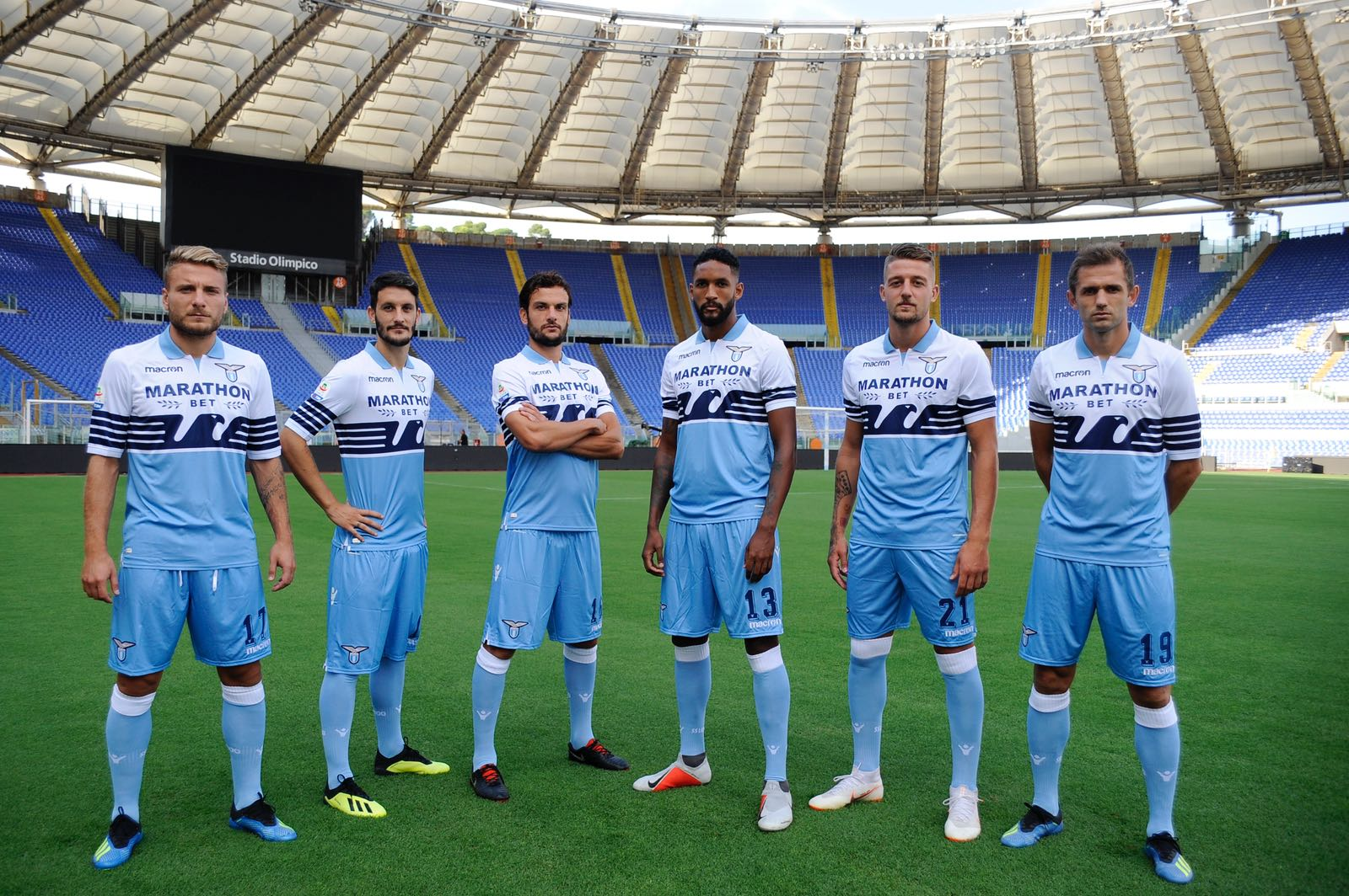 Allenamento Lazio nuova